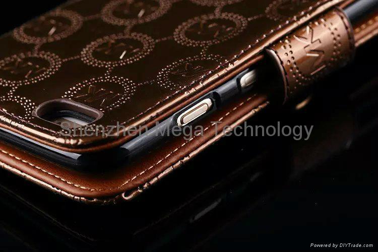 8c5300f07054 ... 4 iphone 6s 6s plus MK michael kors Diamond shiny PU Flip wallet Phone  case cover 5 ...