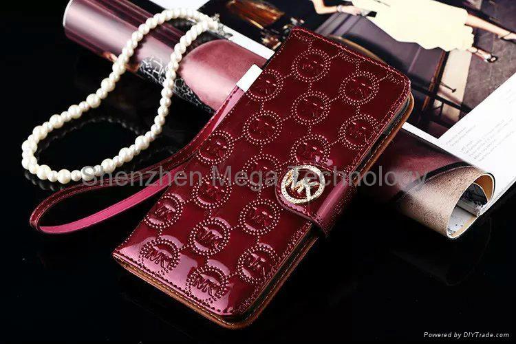 ccca31a83a62 ... iphone 6s 6s plus MK michael kors Diamond shiny PU Flip wallet Phone  case cover 7 ...