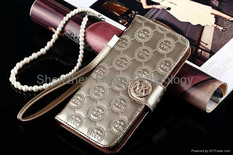 2c2cd2705bc5 ... iphone 6s 6s plus MK michael kors Diamond shiny PU Flip wallet Phone  case cover 9 ...