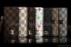 iphone X iphone 8 8plus Luxury LV Louis PU wallet Flip TPU Phone case cover