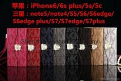 MK Michael Kors good quality phone case cover for Sam S7 edge, S7 edge plus