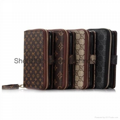 LV Gucc brand designer 2 in 1 cardslot money holder phone case cover (Hot Product - 1*)