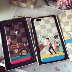 LV designer traveling case phone case cover for iphone 6 6 plus 7 7 plus
