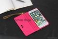 "Louis Vuitton universal 5.5"" card slot wallet Key Ring phone folio case cover"