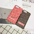 8 colors LV Supreme hard PC back cover case for iphone 7 7plus 6 6plus