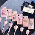 Pink panther Flamingo soft TPU suitcase