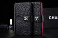 CC chain real leather wallet phone case