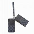 Playphone    X, modern wallet Damier Graphite canvas with purse phone case