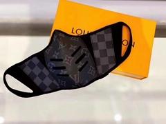 Louis Vuitton black canvas Fashion Protective Face Masks Unisex Dust Mouth mask