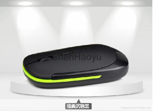 超薄2.4G無線鼠標 3