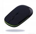 2.4GHz 1600dpi USB Cordless Optical Wireless Mouse Mice with Mini Hidden USB Rec 4
