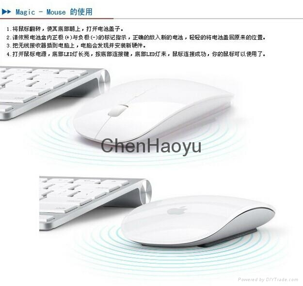 2.4G wirelessAPPLE mouse  2