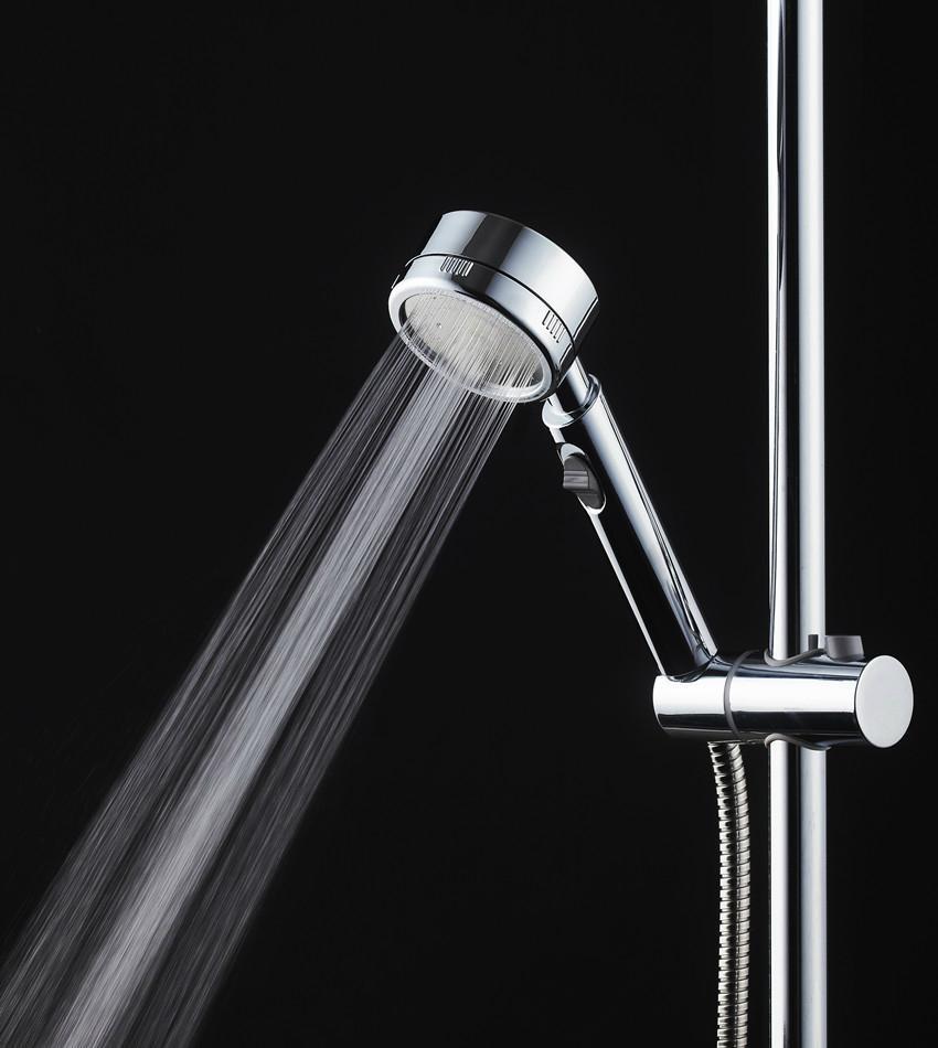 鋁超強增壓自帶開關手持花灑持節水淋浴頭噴頭 1