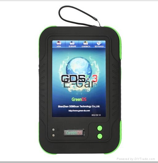 With mini printer inside and screenshot function universal car diagnostic tool 3