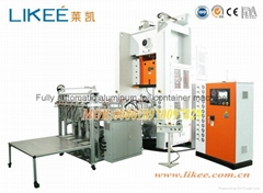 Superior Manufacture Of Aluminum Foil Food Box Machine LIKEE-T63