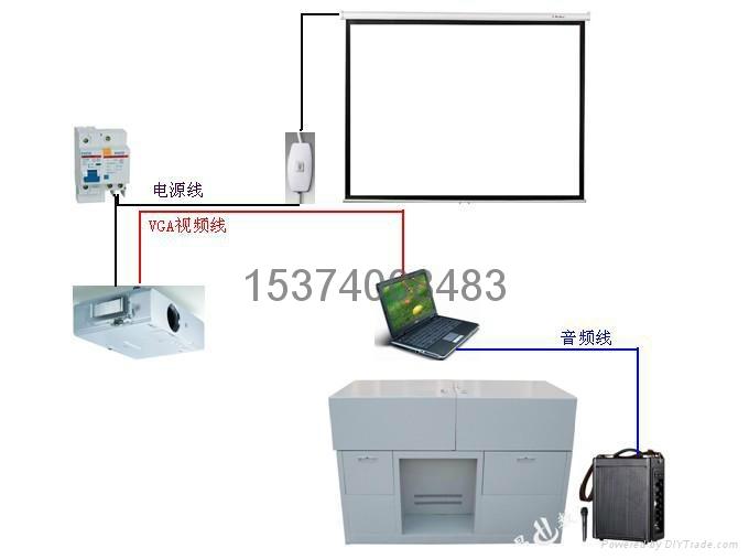 多媒體講桌BX1200 1
