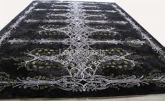 100% SILK Tufted Carpet
