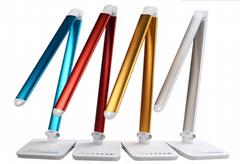 Aluminum Touch Control Led Desk Lamp Folding Lampe De Chevet