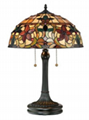 Tiffany Floor Lamp Neon Lights 1