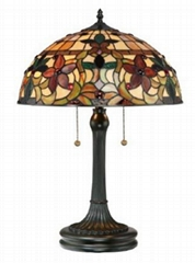 Tiffany Floor Lamp Neon Lights