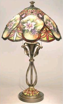 Tiffany Floor Lamp Neon Lights 2