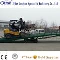 DCQY12-0.9 mobile hydraulic yard ramp