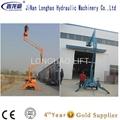 China 10m articulating boom lift sales