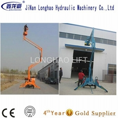 China 10m articulating boom lift sales