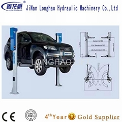 2 post hydraulic car lift