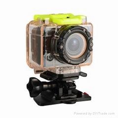 1080P HD Helmet Sports DV Action Car Bicycle Cam Waterproof Camera