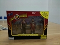 Collectibles action figure  2 pcs set packed ,3D customized  action figure toy