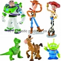Disney licensed figure character products   custom made plastic figure