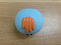 Vinyl  rotate oven cast molded   Vinyl  head toy