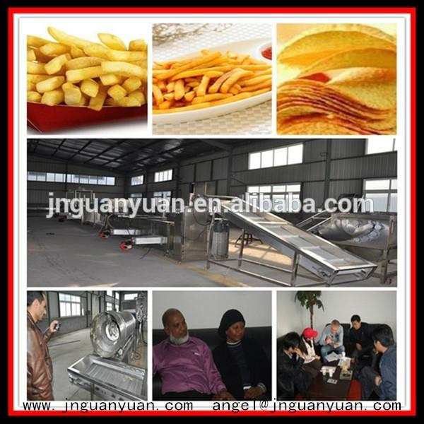 Fresh Potato Chips Production Machine 1