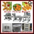 Hamburger Burger Forming Machine