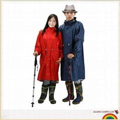 筱丹丹祥加長騎行雨衣