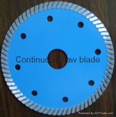 Hot-pressed super thin saw blade