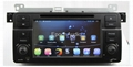 Car Pure android 4.2 os system For BMW E46 dvd player with gps navigation 2