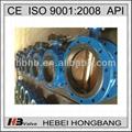 dn50~dn1400 pn10/16 ductile iron double