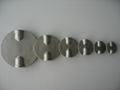 Stainless steel Dual Alxe butterfly va