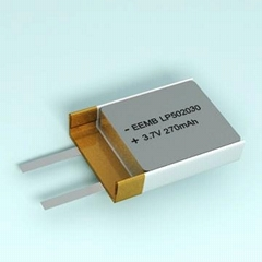 3.7v Rechargeable Lithium Polymer Battery