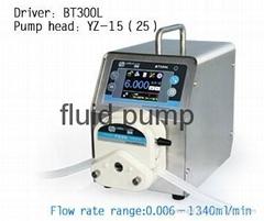 high precision peristaltic pump for culture media