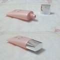 Packaging tube, cosmetic plastic tube