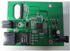 Fiber media converter PCB