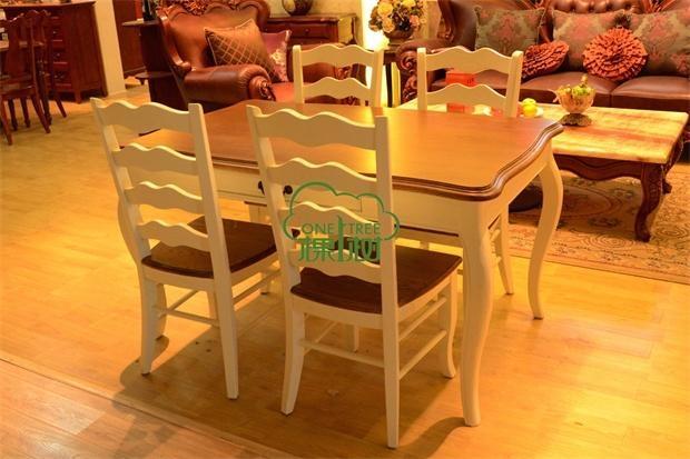 實木餐桌椅 2
