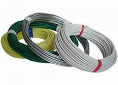 PVC coated wire as binding wires and chain link wires