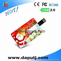 Factory wholesale usb card with OEM logo .