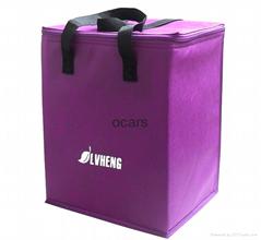 Cheap disposable non woven  promotional  sea food cooler bag