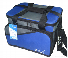 Outdoor insulated two person PEVA cooler bag