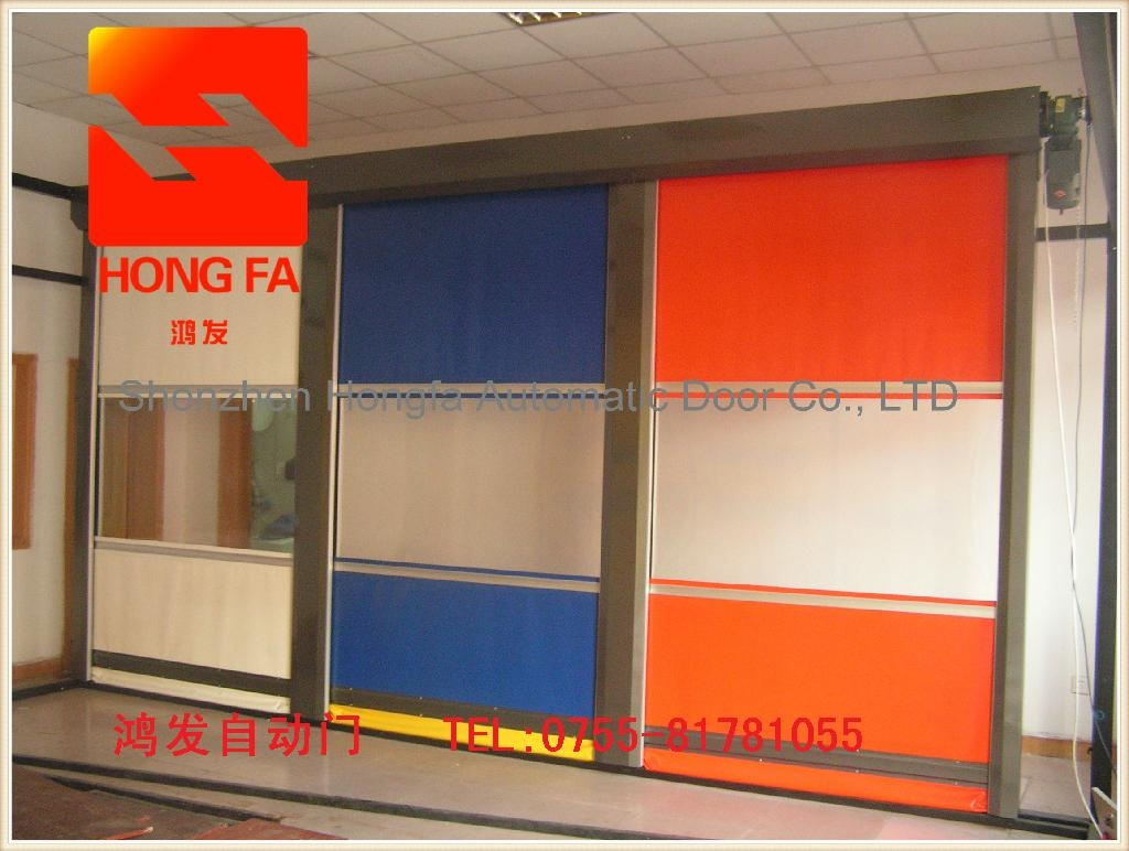 Top Quality Automaitc High Speed Door With CE Certification  2